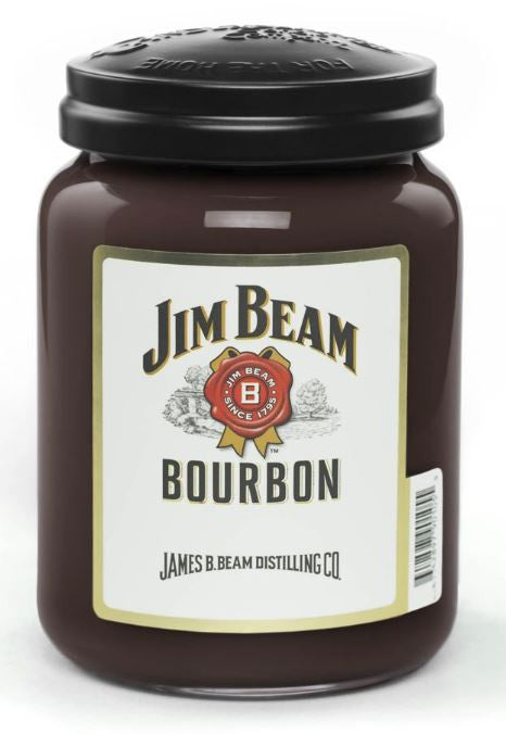 Jim Beam Bourbon 26 oz. Jar Candle
