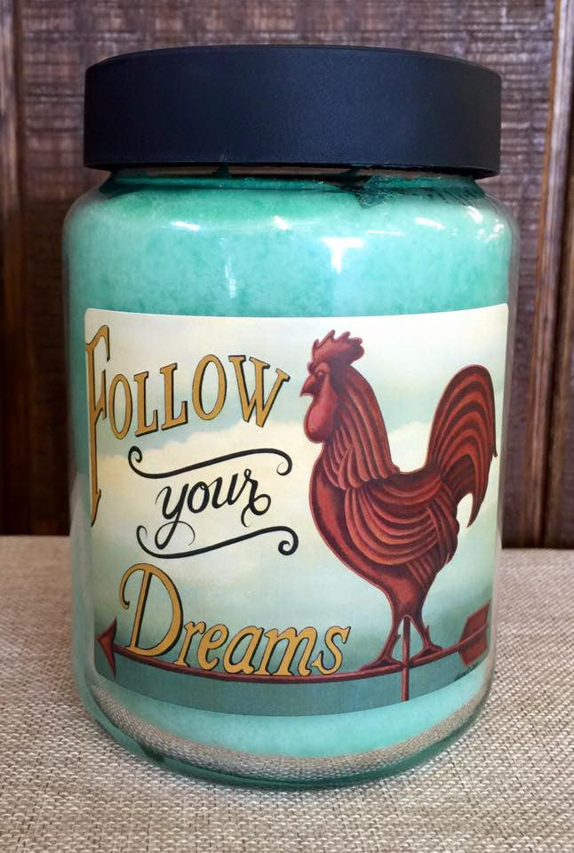 Melon Burst 26 oz. Jar Candle -Follow your Dreams