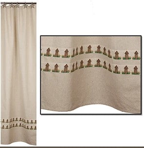 Ol' Outhouse Shower Curtain