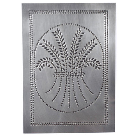 "Wheat Design Cabinet Panel 10""x14"" - Country Tin"