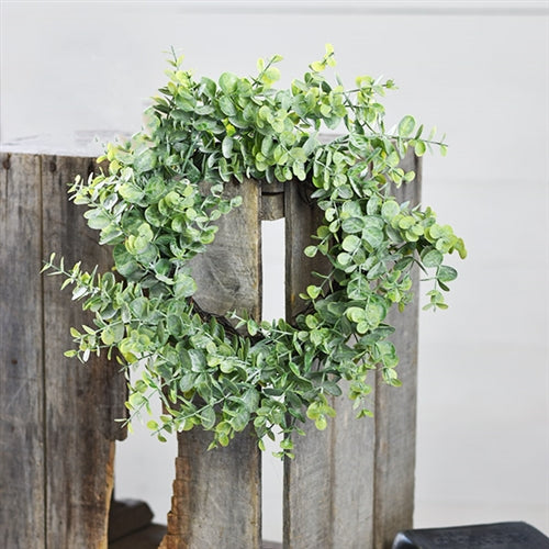 "15"" Eucalyptus Green Wreath"