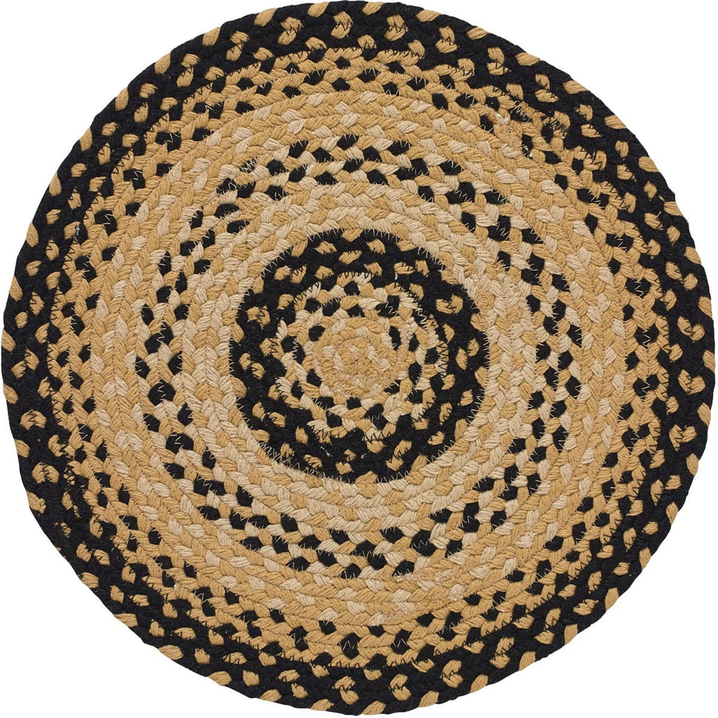 "Cornbread 15"" Braided Placemat"
