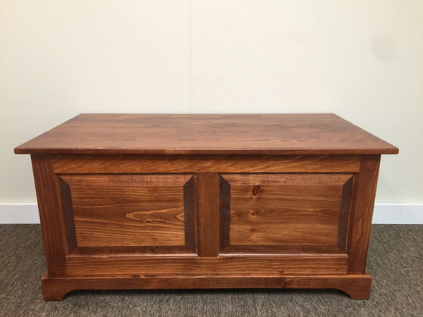 Blanket Chest with Raised Panels