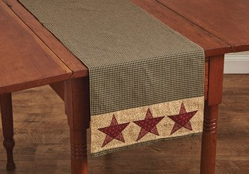 Country Star Table Runner