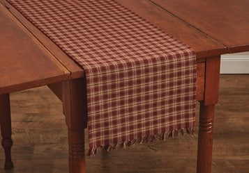 Sturbridge Table Runner - Wine