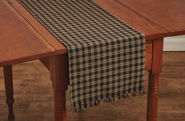 Sturbridge Table Runner - Black