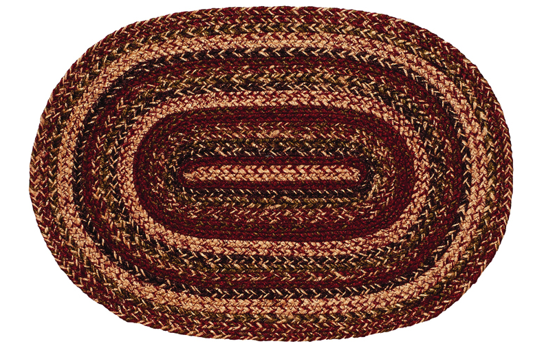 "Apple Cider 10"" x 15"" Braided Swatch"