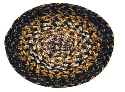 "Black Forest 8"" Braided Trivet"