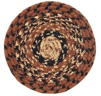 "Cappuccino 8"" Braided Trivet"