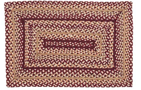 Checkerberry Rectangle Braided Rugs