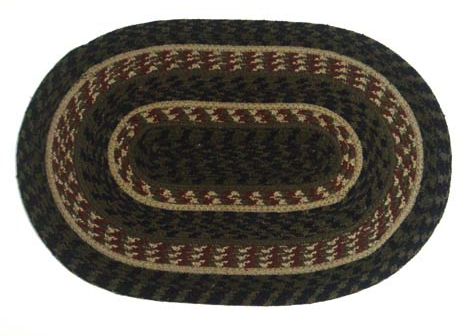 "Pinecone 10"" x 15"" Braided Swatch"