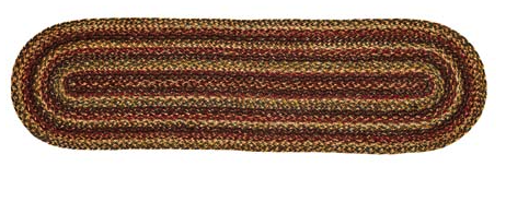 "Plantation 13"" x 48"" Braided Table Runner"