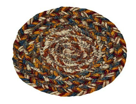 "Plantation 4.5"" Braided Coaster"
