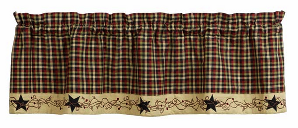 "Tangled Berries 60"" x 16"" Valance"