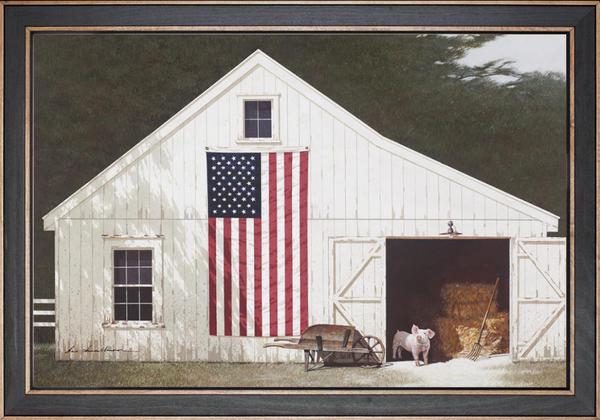 Barn with Piglet