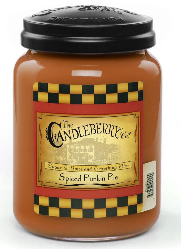 Spiced Punkin Pie 26 oz. Jar Candle
