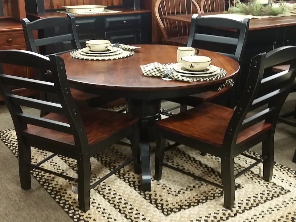 "Table-42"" with Pedestal"