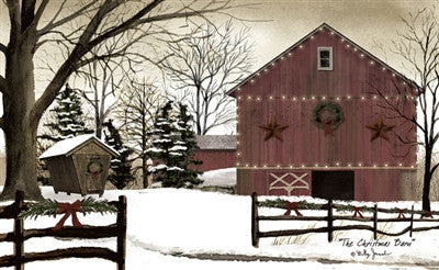 Christmas In The Barn 2020 Kc The Christmas Barn Decorative Floor Mat – KC Collections