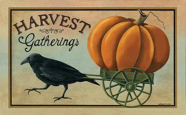 Harvest Gatherings Decorative Floor Mat