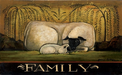 Family Decorative Floor Mat