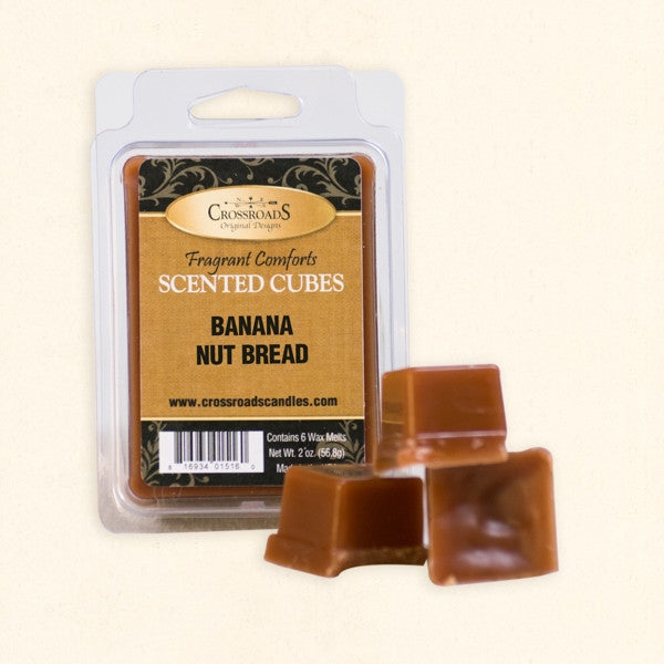 Banana Nut Bread Scented Cubes