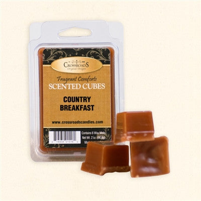 Country Breakfast Scented Cubes