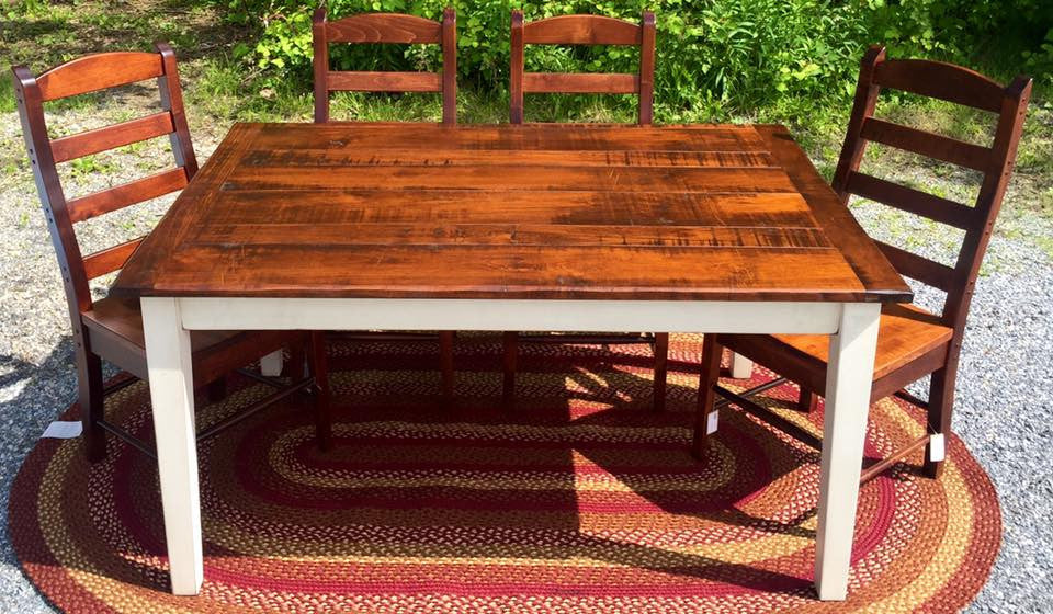 Table-5' with Rough Sawn Top
