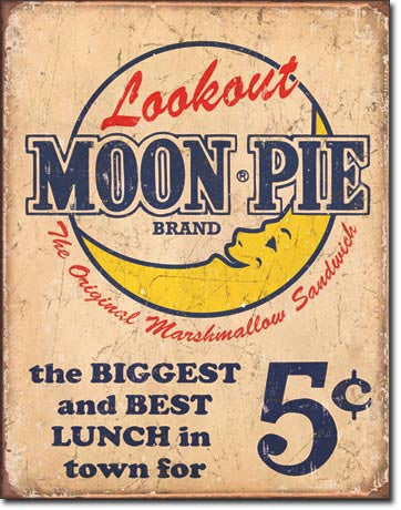 Moon Pie - Best lunch Tin Sign