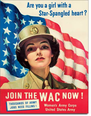 WACS - Come Join Tin Sign