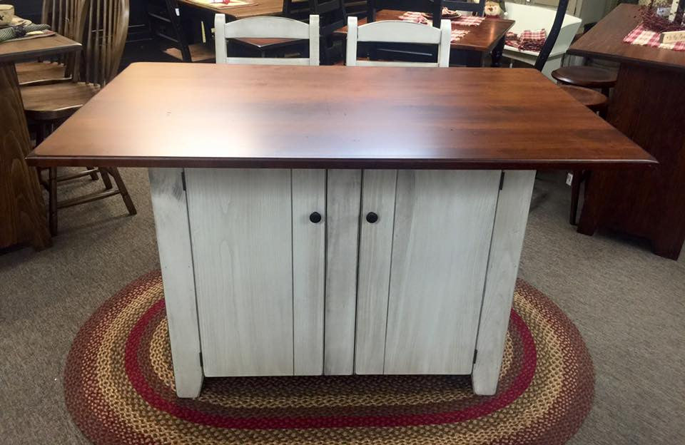 Island-Standard with X-Large Top and No Drawers