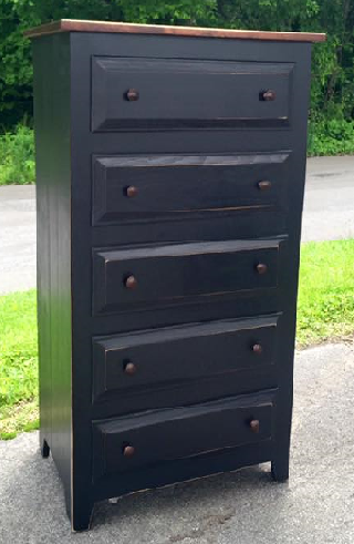 Chest of Drawers-Oxford 5 Drawer