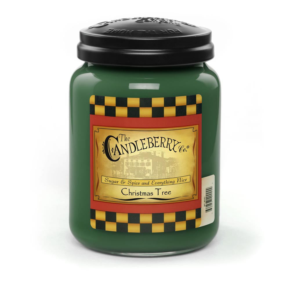 Christmas Tree 26 oz. Jar Candle