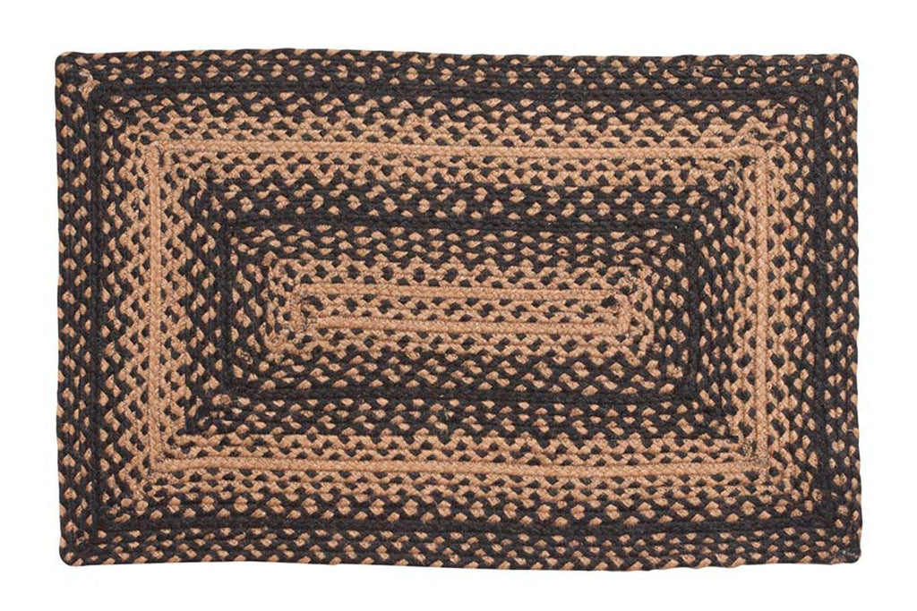 Ebony Rectangle Braided Rugs