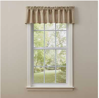 Farmington Valance Oatmeal
