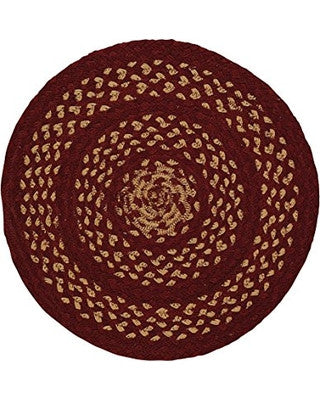 "Winesap 15"" Braided Placemat"