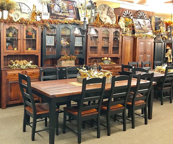 Amish Made Dining & Kitchen Tables and Fall Decor