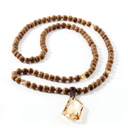 Clarity Mala Necklace