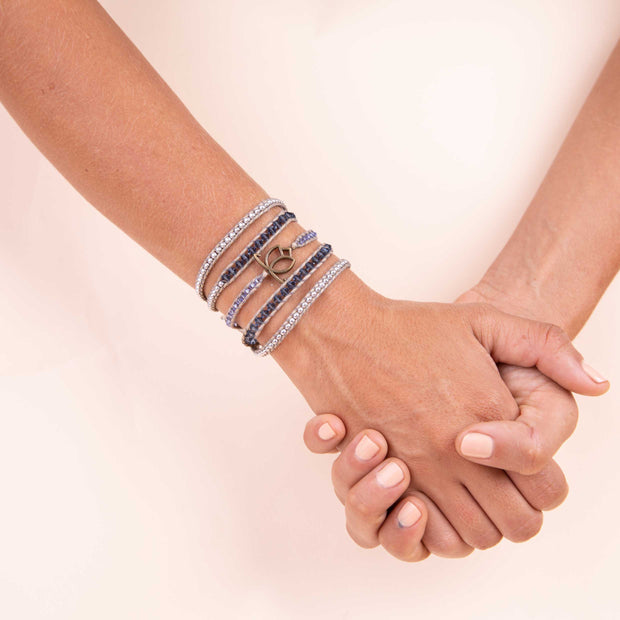 Luxe Bracelet - Denim Natural