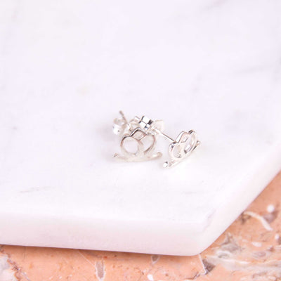 Charmed Stud Earrings - Sterling Silver