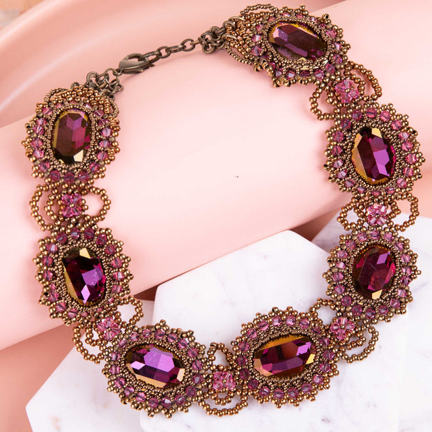 Aman Lilac Necklace