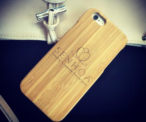 Senhoa Bamboo iPhone Case