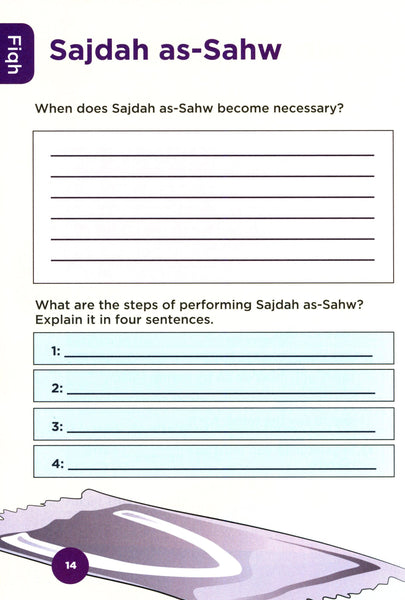 An Nasihah Islamic Curriculum Workbook 4