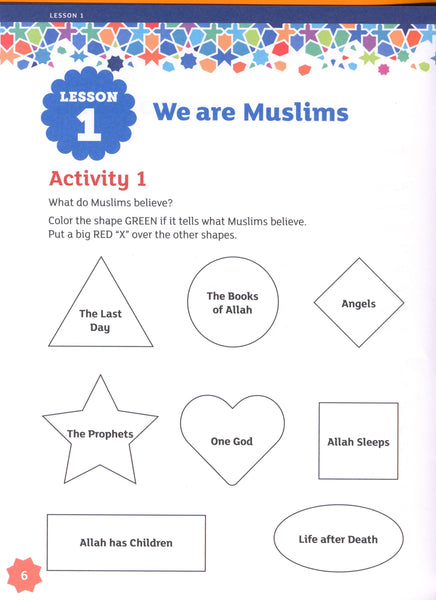 IQRA' WISE Workbook 1st Grade