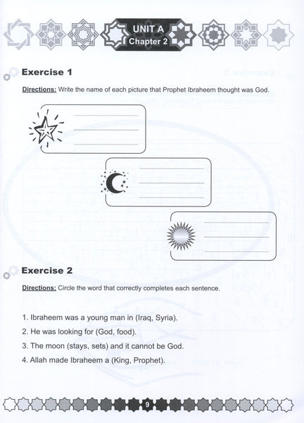 I Love Islam Workbook Level 1