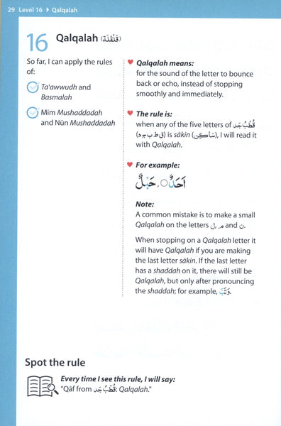 Rules of Tajwid (Madinah Script)