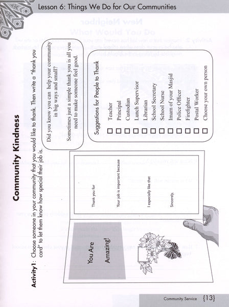 We Are Muslims Workbook Grade 4