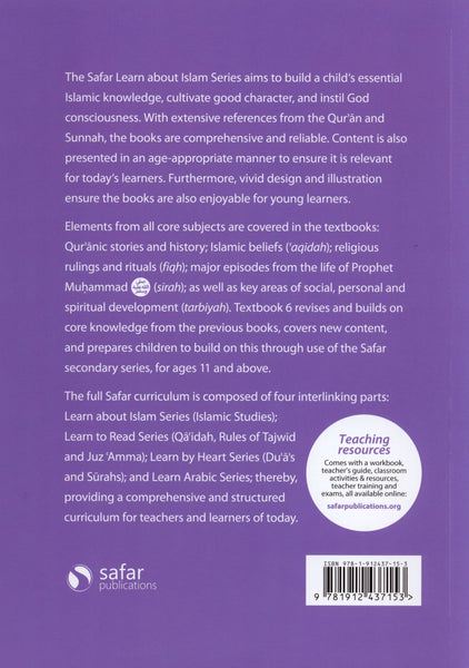 Safar Islamic Studies Textbook 6