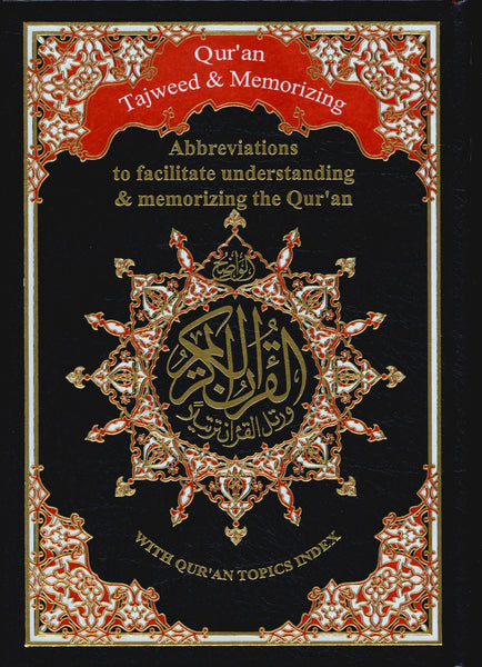 Qur'an Tajweed & Memorizing (Abbreviations to facilitate understanding & memorizing the Qur'an)