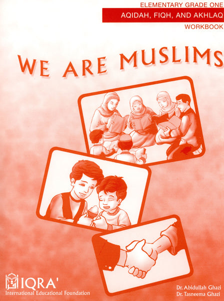 We Are Muslims Workbook Grade 1