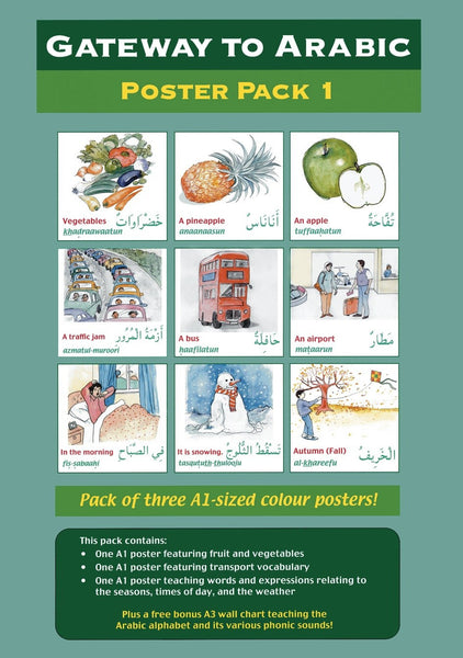 Gateway to Arabic Poster Pack 1 مفتاح العربية